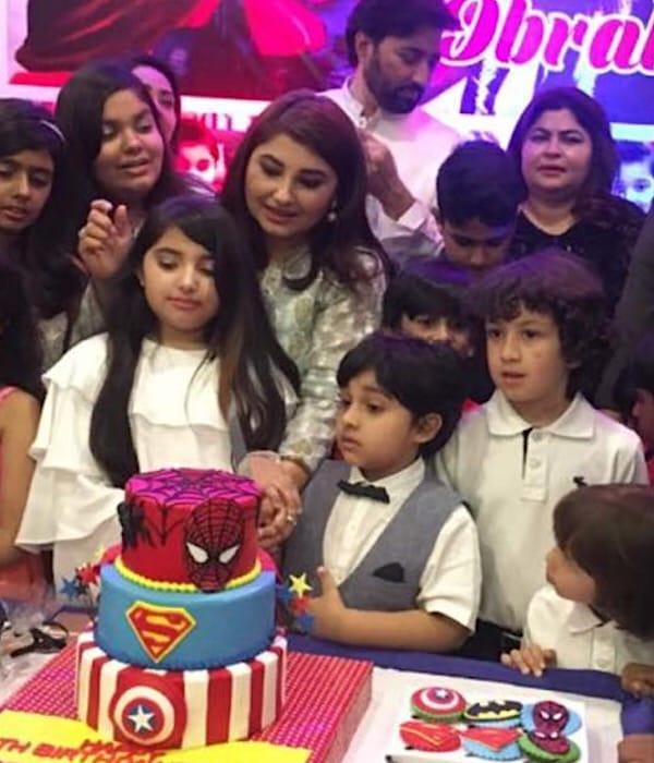Javeria And Saud Celebrate Their Son's Birthday