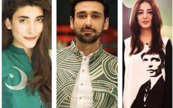 Pakistani Celebrities' Independence Day Celebrations