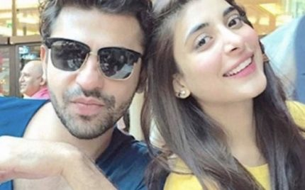 Urwa And Farhan Enjoying In USA