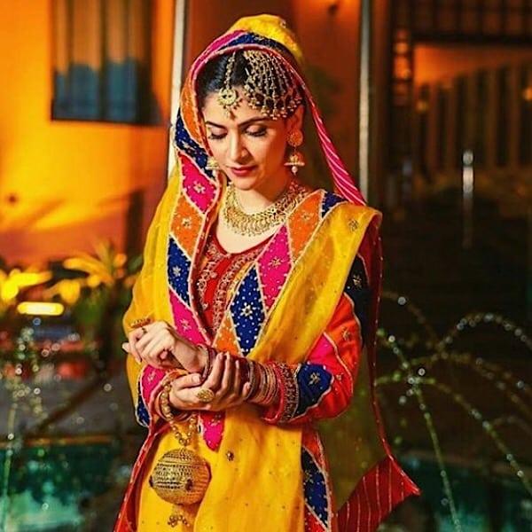 Arij Fatyma's Beautiful Mehndi Photos