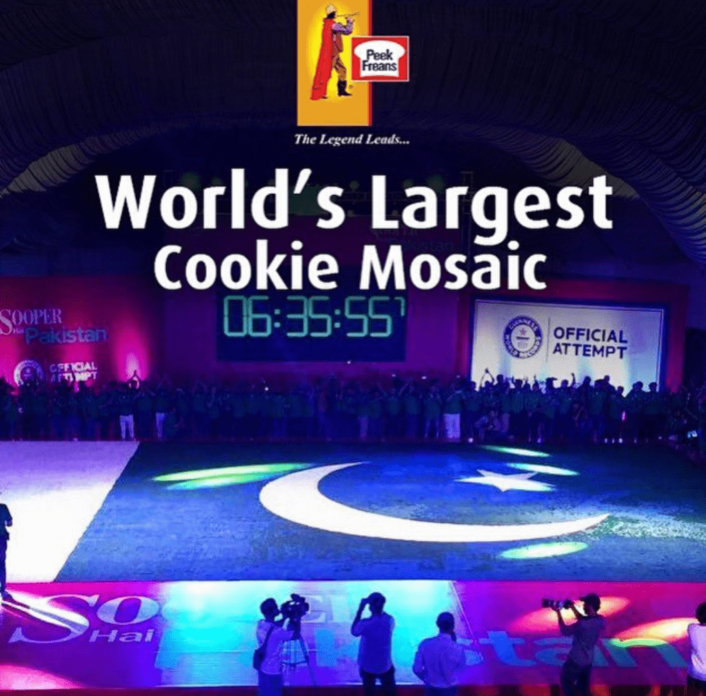 World's Biggest Cookie Mosaic!