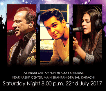 Rahat Fateh Ali Khan Among Others To Perform In'Lyrical Night'