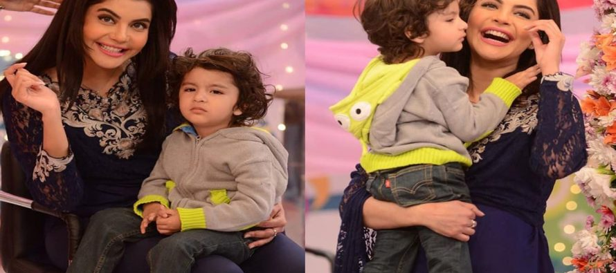 Nida Yasir's Son First Day At School!