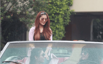 Momina Mustehsan's Look For An Upcoming Music Video