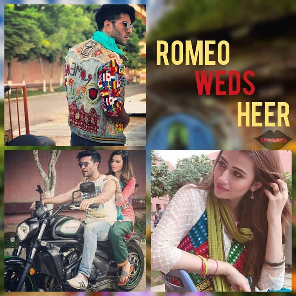 Sana Javed And Feroz Khan Coming Together In ''Romeo Weds Heer''