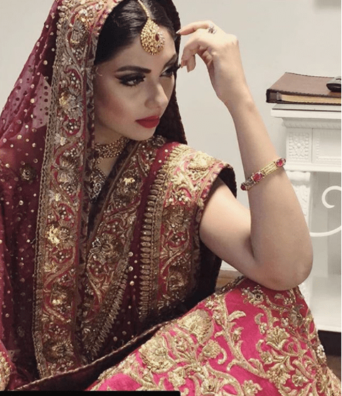 Sunita Marshall Turns Bride For Her Latest Shoot