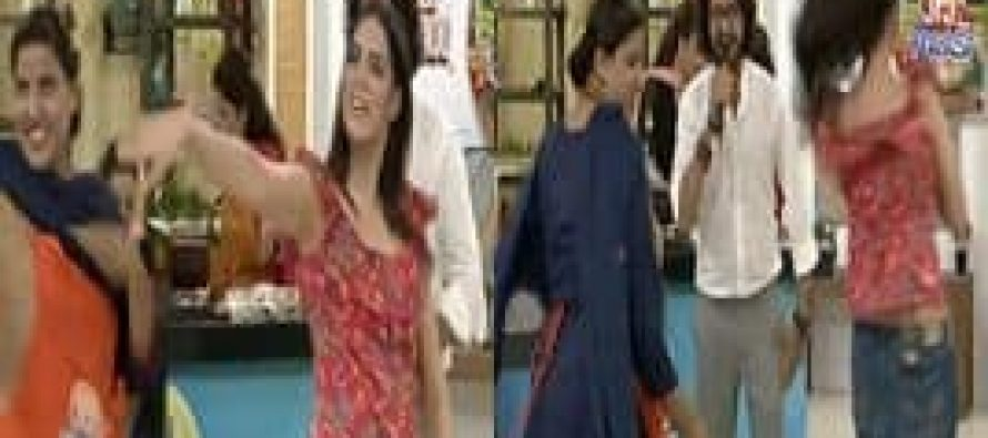 Saima Azhar's Dance with Her Maid in Sanam Jung's Morning Show
