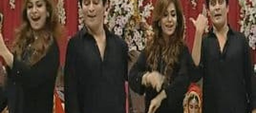 Sahir Lodhi and Amber Dance Together on Zalima