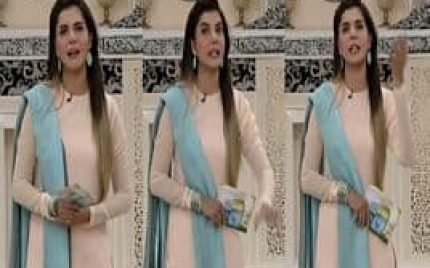 Who did Nida Yasir Fight with Before Coming on her Show?