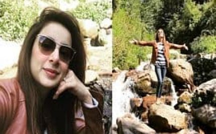 Sarwat Gillani Spending Vacations in the Northern Areas of Pakistan!