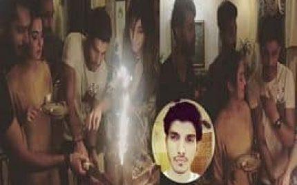 Mohsin Abbas Celebrates his Birthday with Fahad Mustafa & Hania Amir