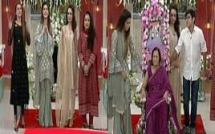 Nida Yasir's Mother Comes on Her Show for the First Time