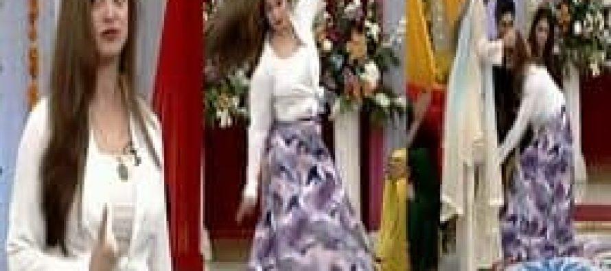 Noor's Dance in Nida Yasir's Morning Show