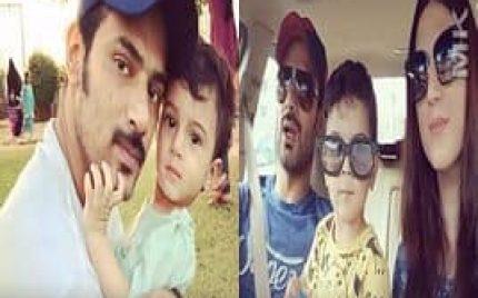 Zahid Ahmad with his Son!