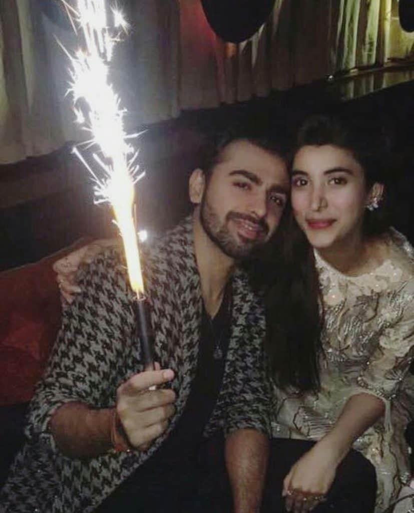 Urwa Celebrated Farhan's Birthday!