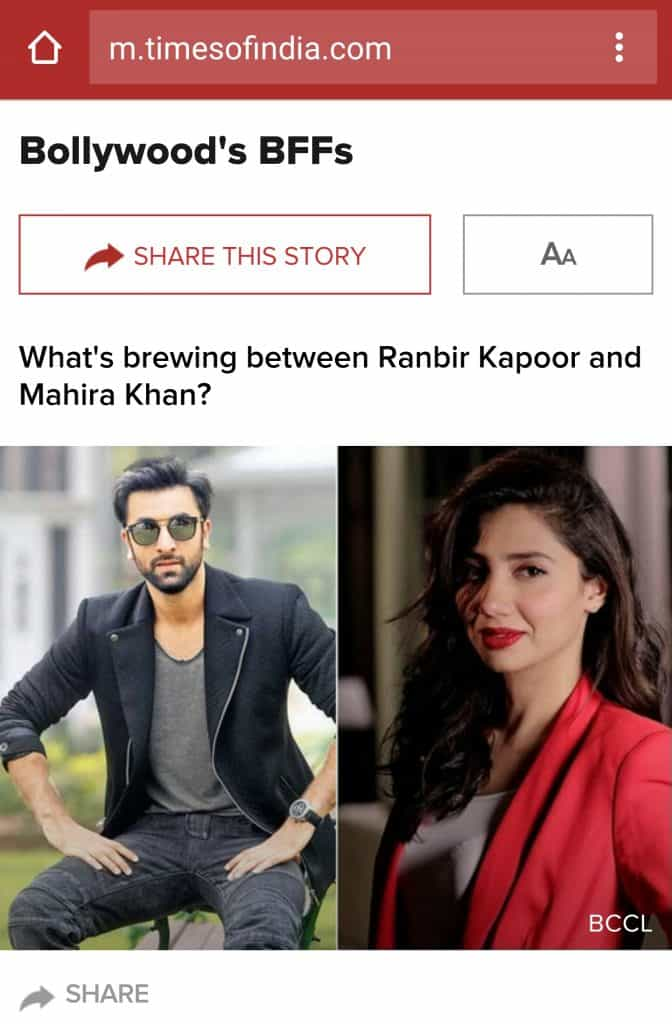 Indian Tabloids Go Crazy And Papa Kapoor Wants To Be Out!