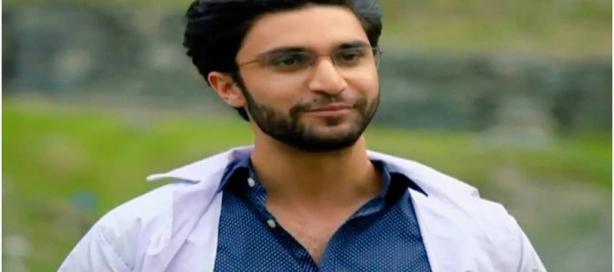 New Crush In Town: Dr. Asfandyar!