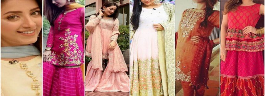 Best Dressed Pakistani Celebrities on Eid-ul-Azha 2017 (Day 1)