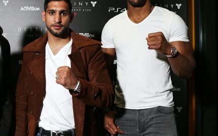 Amir Khan Buries the Hatchet with Anthony Joshua