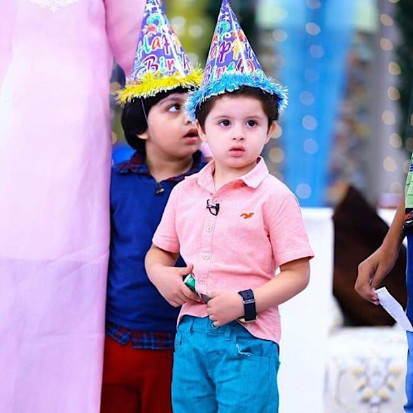 Almir Arsalan Celebrates His Fourth Birthday