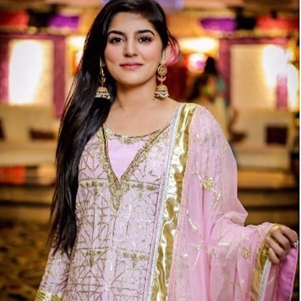 Look At The Gorgeous Sanam Baloch At A Family Wedding