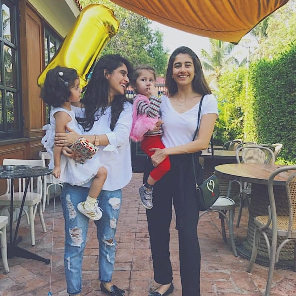Look At Saira Shehroz's Adorable Pictures With Nooreh