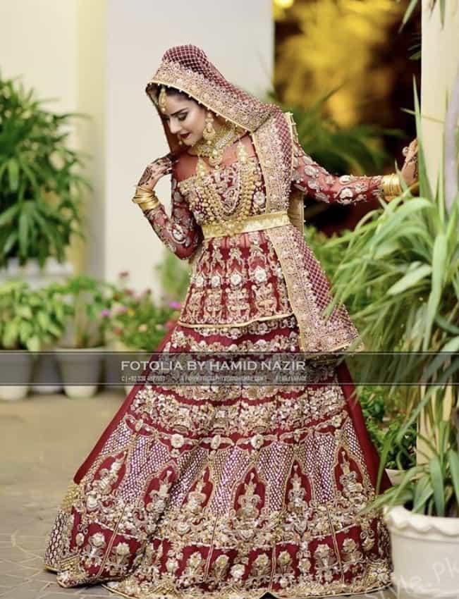 Sheen Javed's Beautiful Bridal Photoshoot