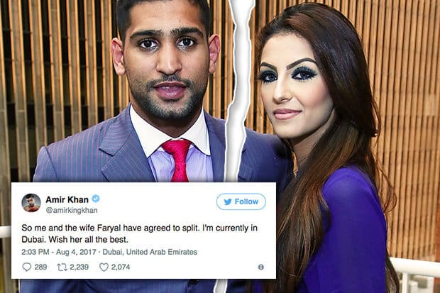Boxer Amir Khan can Lose Half his Fortune in Divorce Case!