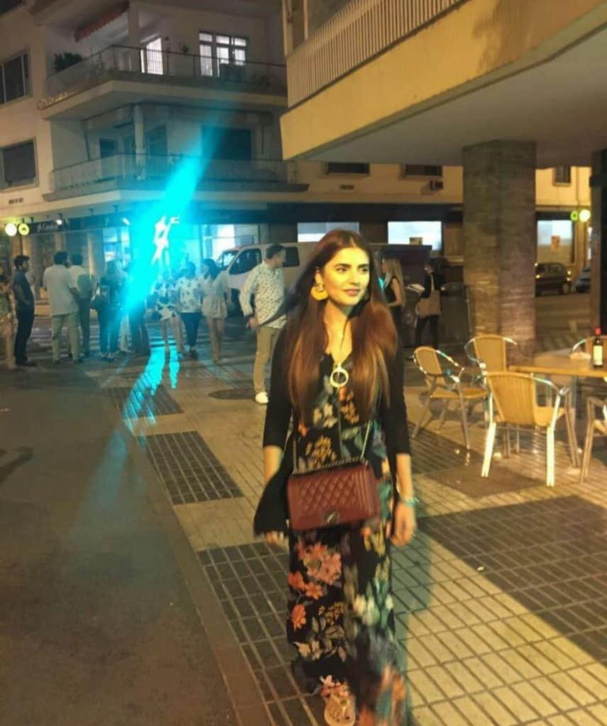 Momina Mustehsan's Trip To Spain!
