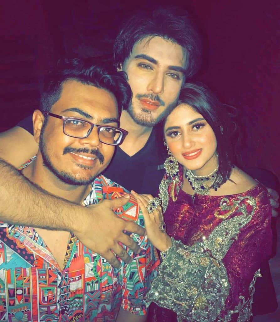 Imran Abbas and Sajal Aly's Shoot For Noor ul Ain!