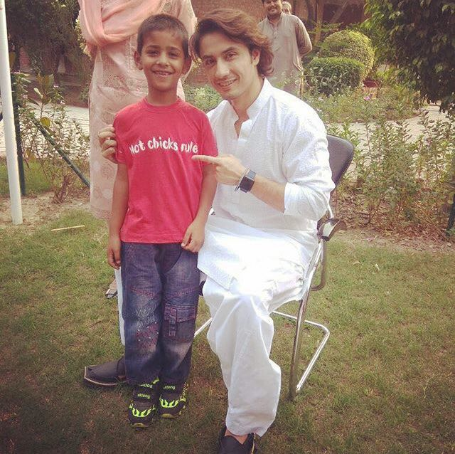 Ali Zafar and Wife Ayesha Spent Their Sunday with Kids at SOS