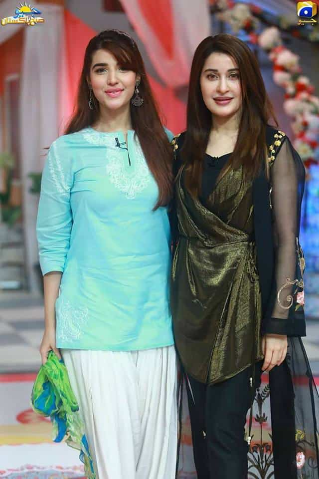 Hareem Farooq Gets Candid With Shaista Lodhi