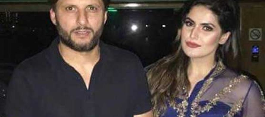 Zareen Khan Fangirls Over Shahid Khan Afridi