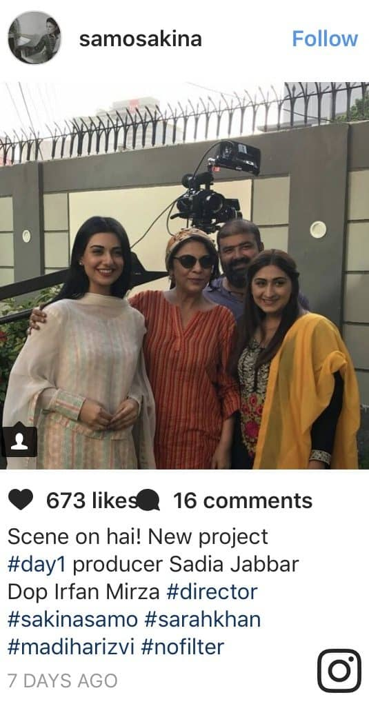 Sarah Khan And Aagha Ali Coming Together Again