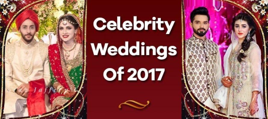 Celebrity Weddings Of 2017