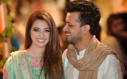 Atif Aslam Wishes Wife Sara In A Cute Way!