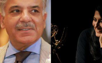 CM Shehbaz Sharif Appreciates Sharmeen Obaid