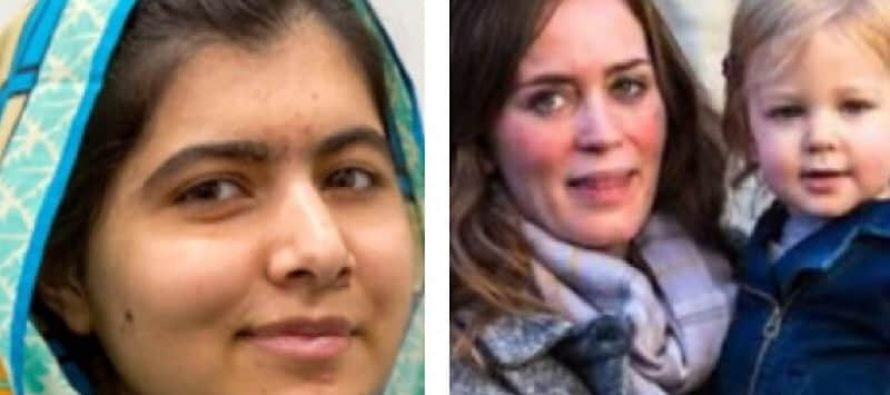 Malala Yousafzai Supported By Actress Emily Blunt