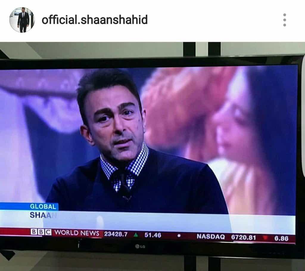 Shaan Shahid Shining In International Media!