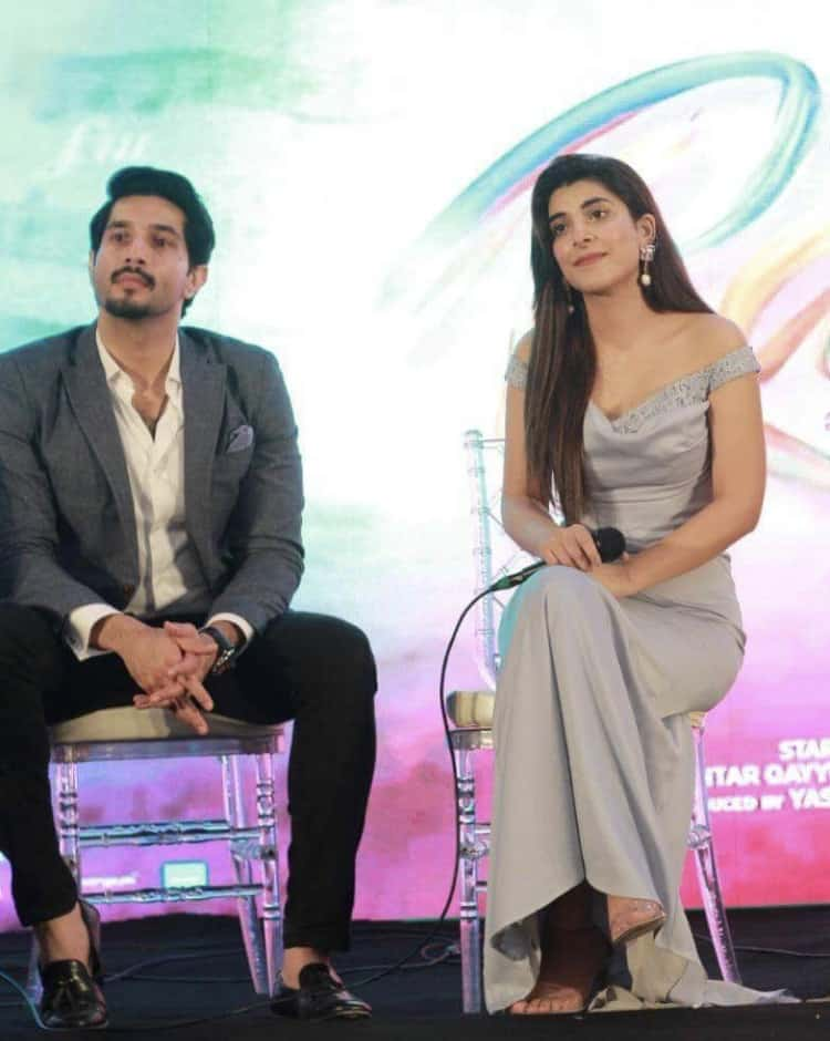 Pictures Of Rangreza's Cast At Its Trailer Launch Ceremony