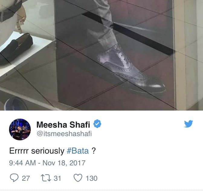 Bata Takes Down Poster After Social Media Backlash