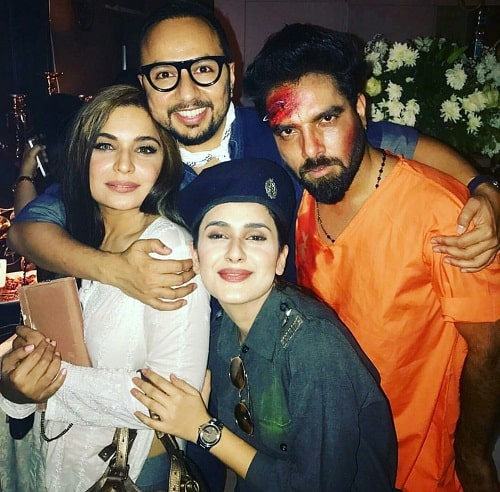 Celebs At Hassan Rizvi's Halloween Party!