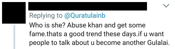 Twitter Is Not Happy With QB Abusing Imran Khan!