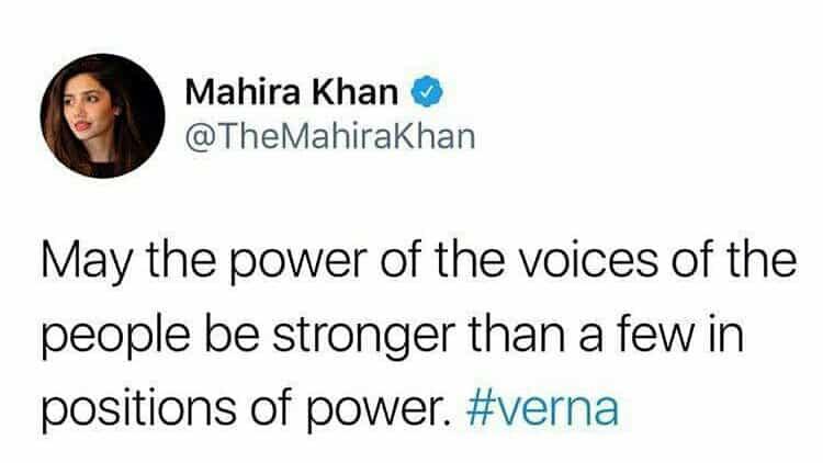 Celebrities Root For Verna!