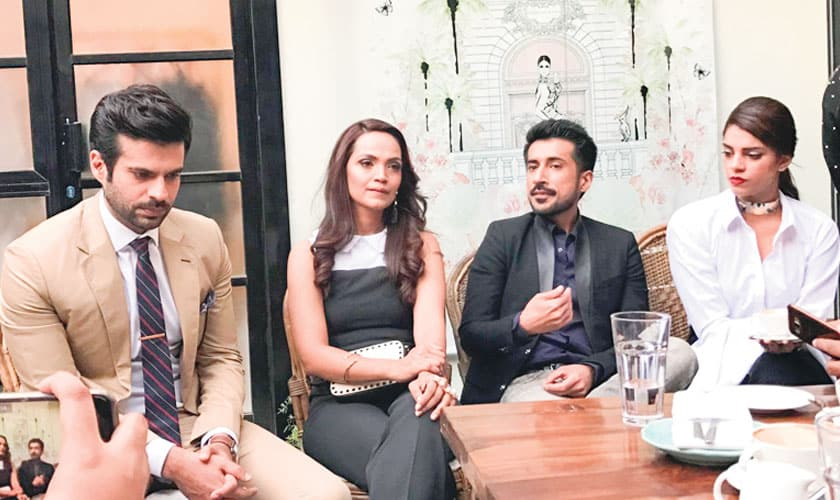 Aamina Sheikh Reveals Her First Look From 'Cake The Film'