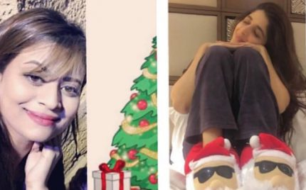 Celebrities Enjoy Christmas 2017