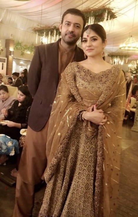 Sanam Baloch Dazzles At Her Sister's Wedding