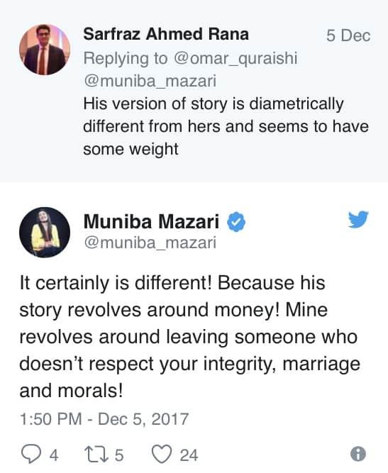 Muniba Mazari's Ex-Husband Sues Her For 10 Million