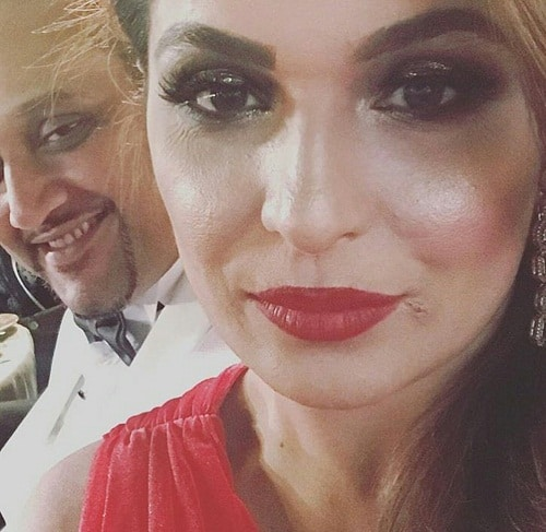 Meera Jee Seen With Her Better Half At Masala Awards!
