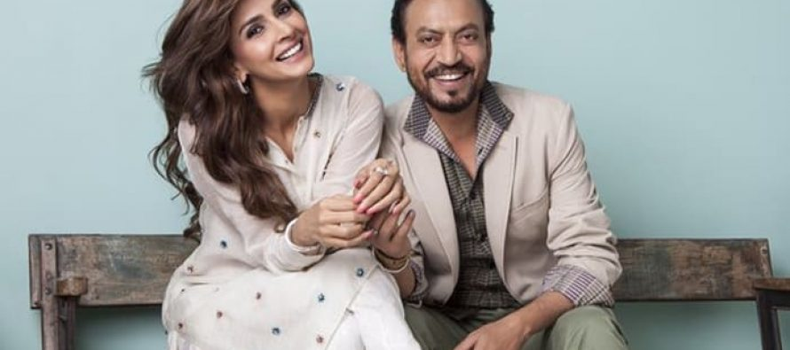 """""""I hope Irrfan and I get to work in the second installment of the blockbuster."""" —Saba Qamar"""